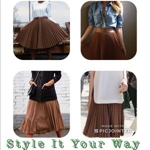 ASOS Pleated Skirt